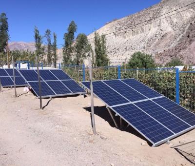 Energía Solar para el Comité de Agua Potable Rural de Varillar