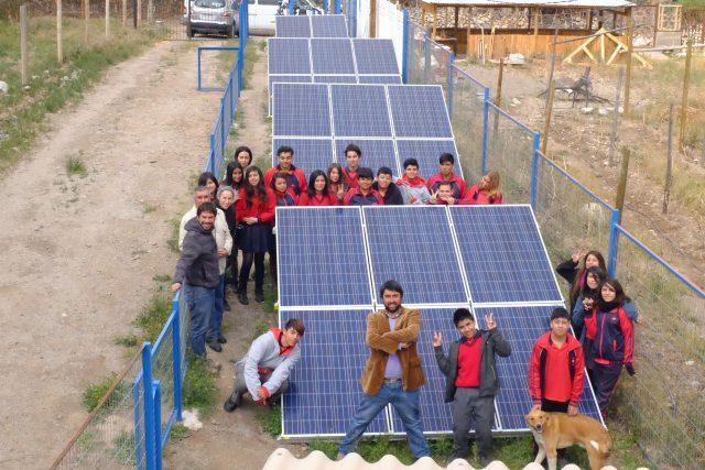 Academia de Energías Renovables visitó planta fotovoltaica del Valle de Elqui