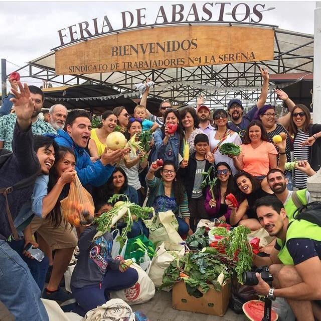 Comunidad participó en jornada de recuperación de alimentos