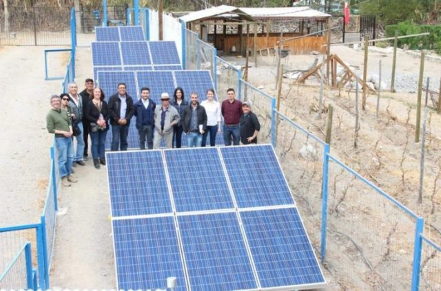 Profesionales argentinos visitan planta fotovoltaica desarrollada por Fundación Alter Eco