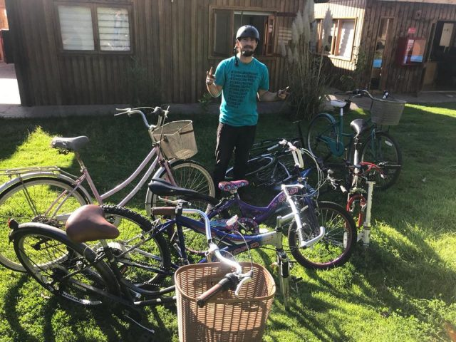Iniciamos Campaña de restauración de bicicletas para entregarlas a migrantes haitianos