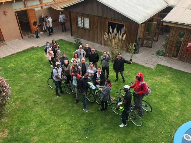 Fundación Alter Eco entregó bicicletas a migrantes haitianos